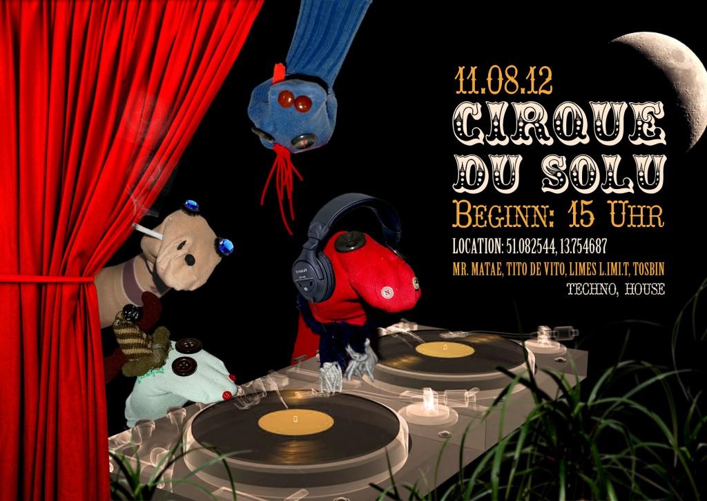Cirque Du SoLu - 11.08.2012 Dresden